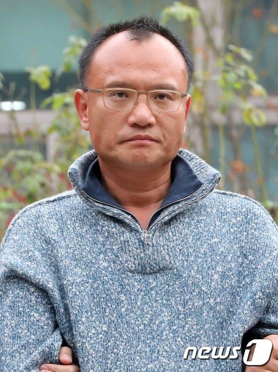 [사진]체포-압송된 양진호 회장