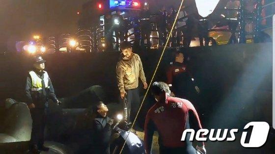 [사진]'제주서 숨진 3살 여아' 엄마 추정 시신 발견