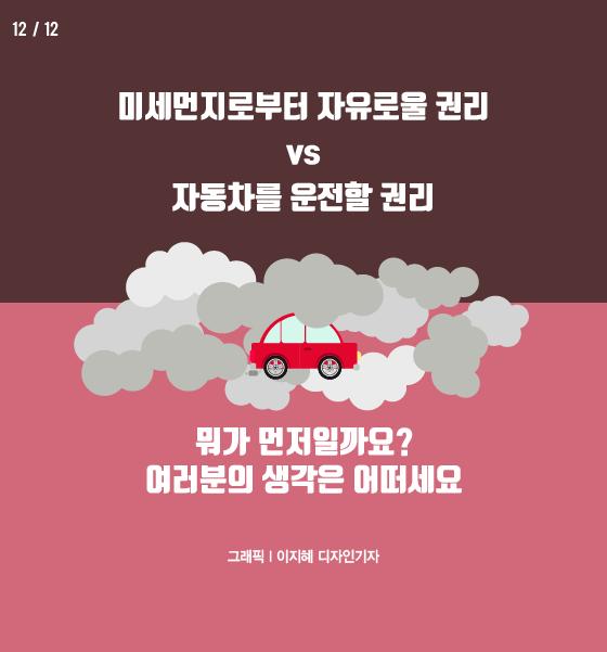 [카드뉴스] 뿌연 하늘, 멈춘 자동차