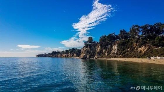 미국 캘리포니아 남부 고급 주택지구 '퍼시픽 팰리세이즈(Pacific Palisades)' 해변/사진제공=현대차