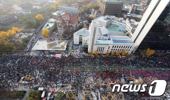 [사진]서울도심 속 전국노동자대회