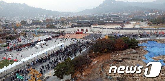 [사진]'적폐청산·노조 할 권리' 전국노동자대회
