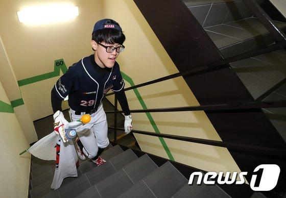 [사진]'두산, 포기하지마!'