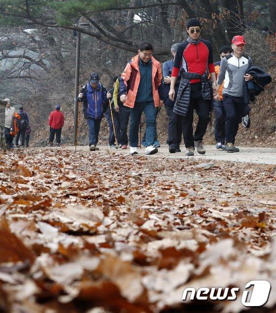 [사진]막바지 가을 산행