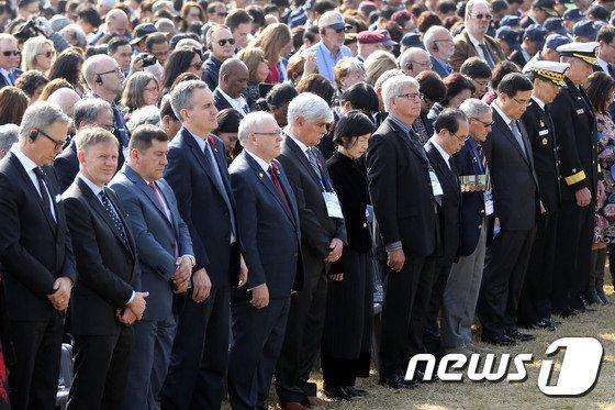 [사진]턴투워드부산 유엔참전용사 국제추모식
