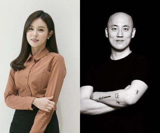조수애 전 JTBC 아나운서(왼쪽), 박서원 두산매거진 대표/사진=OSEN