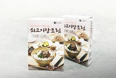 쇠고기 장조림 제품/사진제공=(주)전한 강강술래