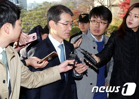 안철상 법원행정처장. 2018.11.20/뉴스1 © News1 박정호 기자