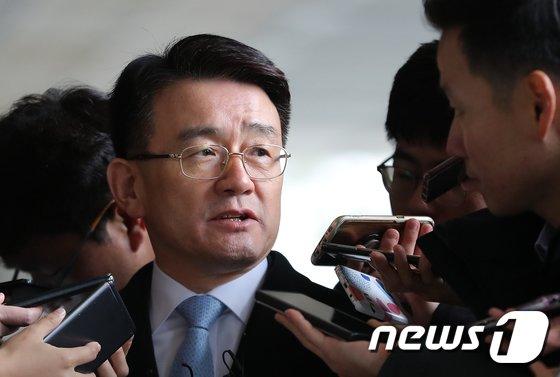 이재수 전 국군기무사령부(기무사) 사령관. 2018.11.27/뉴스1 © News1 구윤성 기자