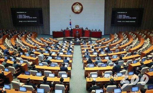국회 본회의. /사진=이동훈 기자