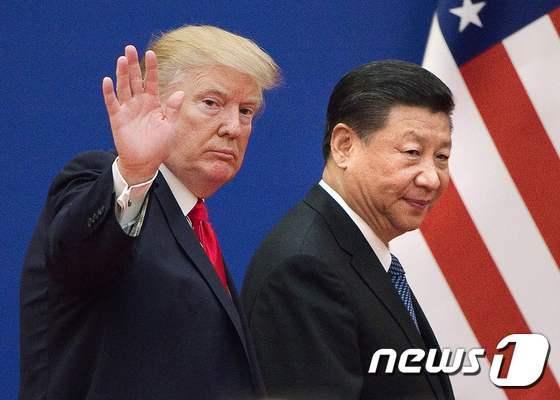 도널드 트럼프 미국 대통령(왼쪽)과 시진핑 중국 국가주석. © AFP=뉴스1