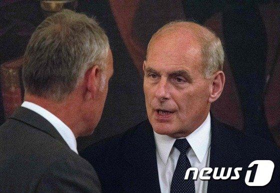 존 켈리 백악관 비서실장. © AFP=뉴스1