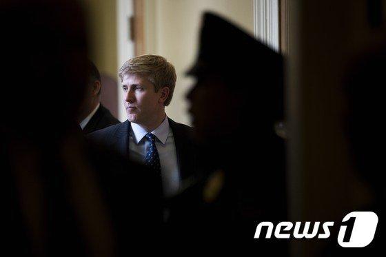 켈리 비서실장의 후임자로 유력한 닉 에이어스 부통령 수석보좌관. © AFP=뉴스1