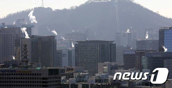 [사진]난방 풀 가동되는 서울도심