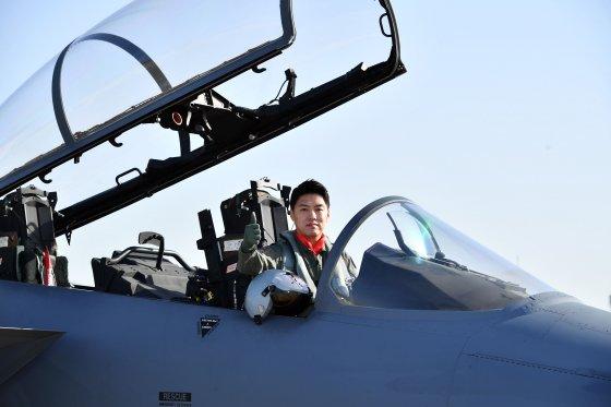 F-15K 전투조종사 이재수 소령/사진제공=공군