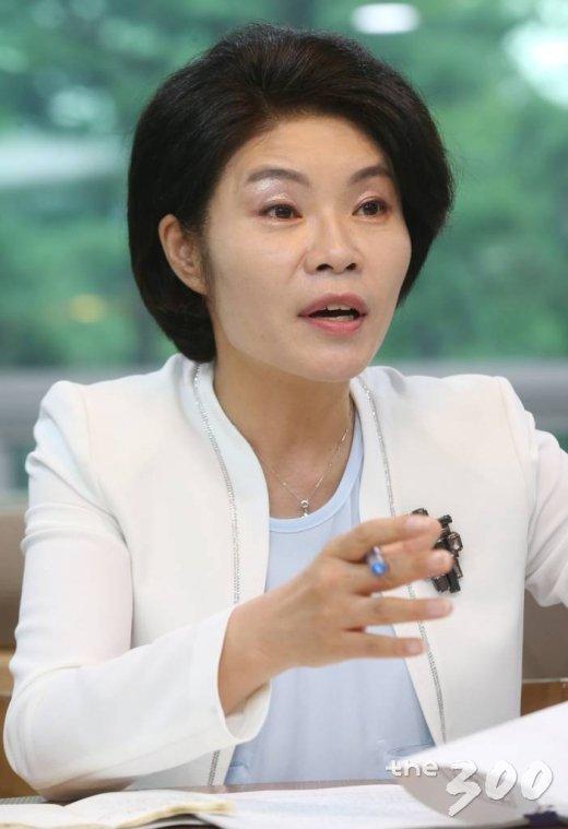 한정애 더불어민주당 의원/사진= 이동훈 기자