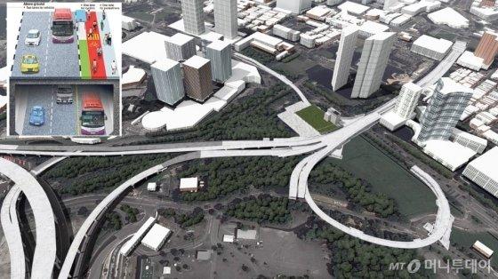 싱가포르 지하고속도로(NSC) N101 구간 공사 조감도. /사진제공=GS건설