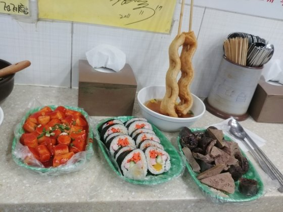 남이 차려준 밥을, 혼자 먹을 때 가장 행복하다던 박주희씨(39). 아들을 챙기느라 제대로 된 점심을 못 먹었었다./사진=박주희씨 제공