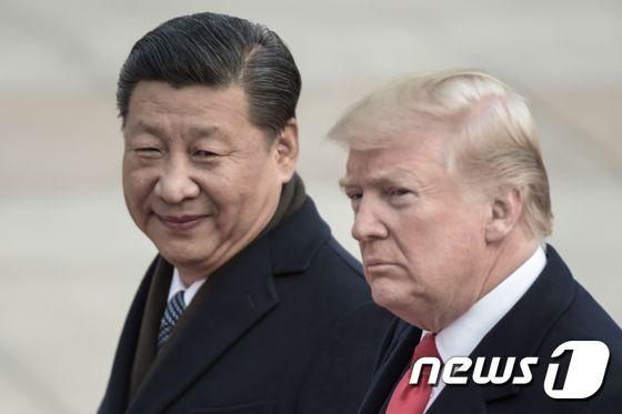 시진핑 중국 국가주석(왼쪽)과 도널드 트럼프 미국 대통령 <자료사진> © AFP=뉴스1