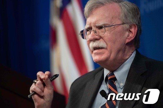 존 볼턴 미국 백악관 국가안보회의(NSC) 보좌관. © AFP=뉴스1
