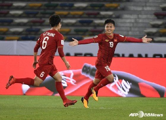 베트남 선수들. / 사진=AFPBBNews=뉴스1