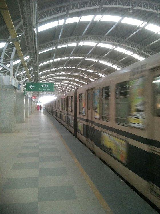 2010년의 콜카타 지하철 /사진=위키커먼스