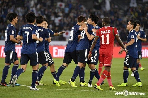선제골을 기록한 일본. / 사진=AFPBBNews=뉴스1