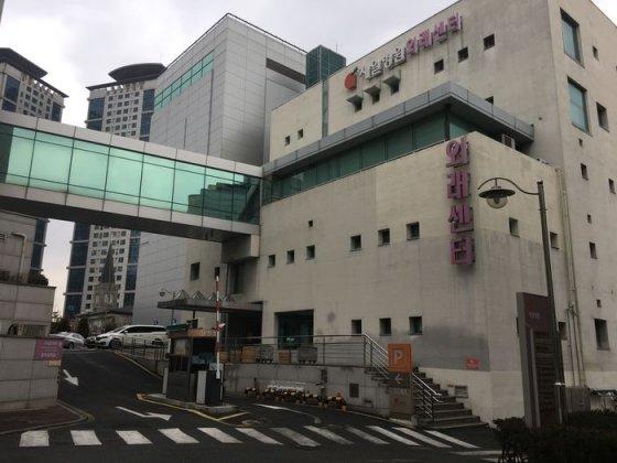 폐원 위기를 맞은 제일병원 외래센터 모습.  /사진=민승기 기자