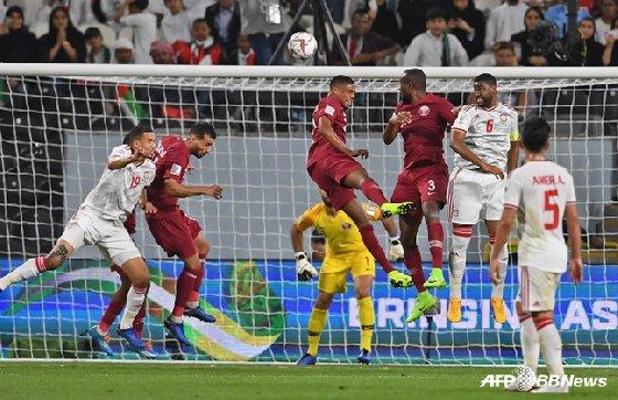 카타르, 아랍에미리트에 4-0 완승. / 사진=AFPBBNews=뉴스1
