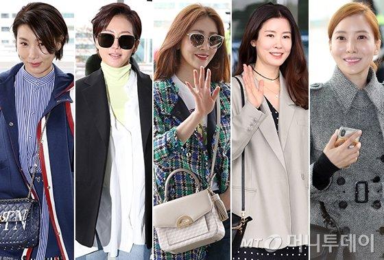 배우 김서형, 염정아, 오나라, 이태란, 윤세아/사진=이기범 기자