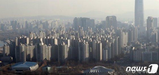 서울 송파구 아파트 단지 전경. /사진제공=뉴스1