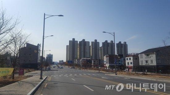 대구 테크노폴리스 일대 모습 /사진=송선옥 기자