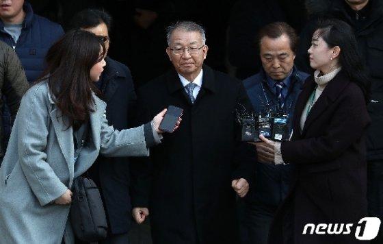 양승태 전 대법원장. 2019.1.23/뉴스1 © News1 박세연 기자