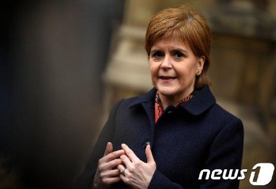 니콜라 스터전 스코틀랜드 자치정부 수반 <자료사진> © 로이터=뉴스1