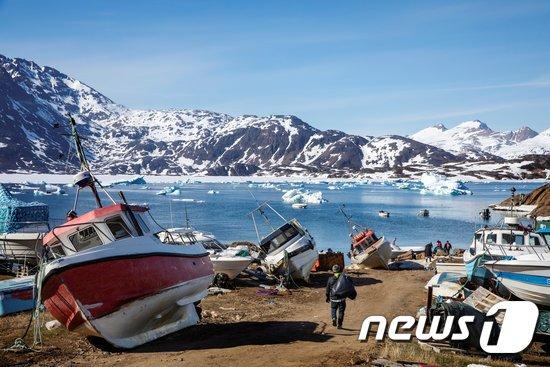 그린란드. © 로이터=뉴스1