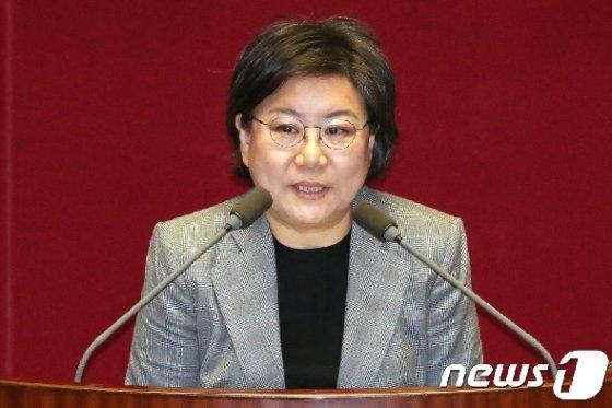 이혜훈 바른미래당 의원.© News1 민경석 기자