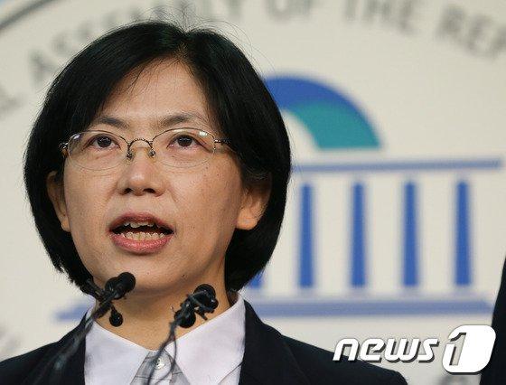 이정희 전 통합진보당 대표. © News1 허경 기자