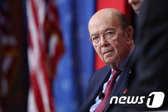 윌버 로스 미 상무장관. © AFP=뉴스1