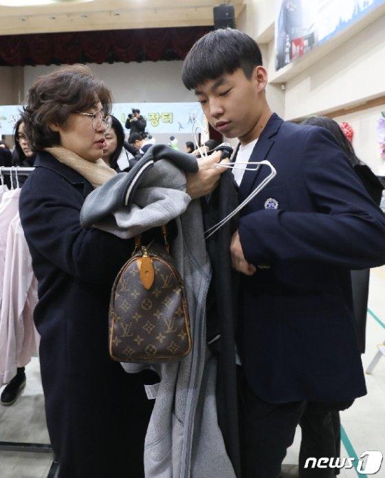 [사진] 어떤 교복이 좋을까?