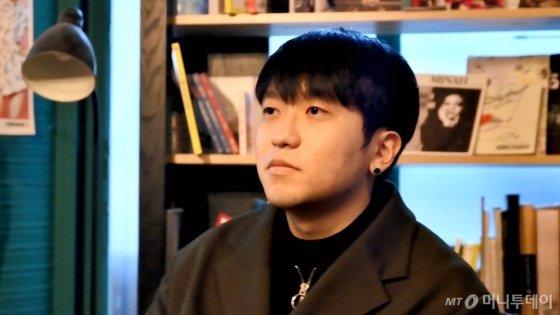 지난 7일 서울 강남구 논현동의 한 스튜디오에서 인터뷰를 진행하는 보이텔로의 모습. /사진=이상봉 기자