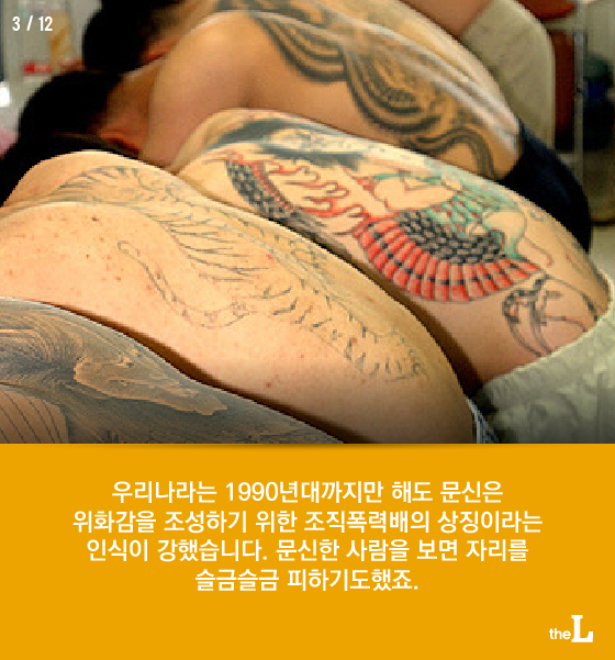 [카드뉴스] 불법과 예술 사이, 타투