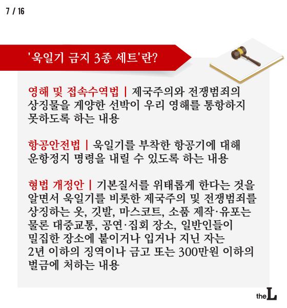 [카드뉴스] 일 군국주의 상징 욱일기, 사라져야 할 유물