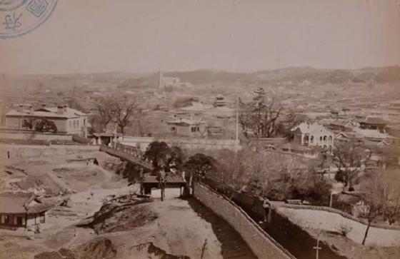 '고종의 길'의 원래 모습./사진제공=국립중앙도서관