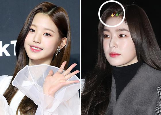 그룹 아이즈원 장원영, 레드벨벳 아이린/사진=머니투데이 DB, 뉴스1