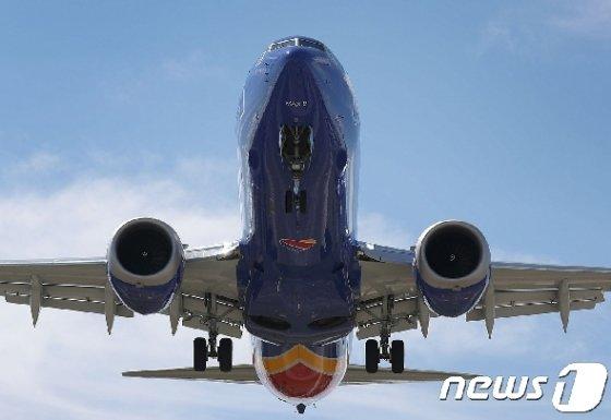 보잉 737 맥스8 © AFP=뉴스1