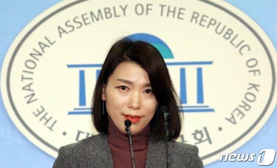김정화 바른미래당 대변인. /사진=뉴스1
