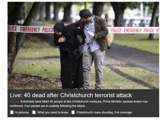 /사진=뉴질랜드 매체 1뉴스 홈페이지 캡쳐