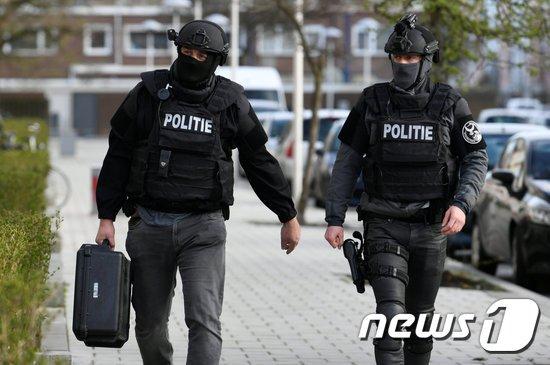 총격 사건이 발생한 네덜란드 위트레흐트시. © 로이터=뉴스1