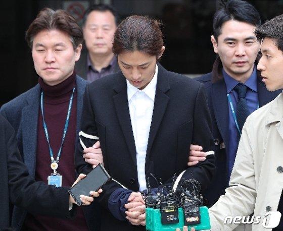 [사진] 정준영 '구속 갈림길'