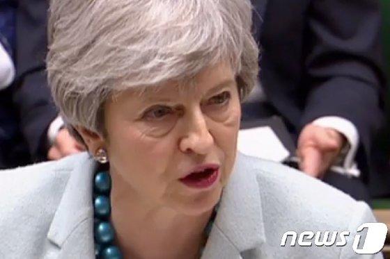테리사 메이 영국 총리. © AFP=뉴스1